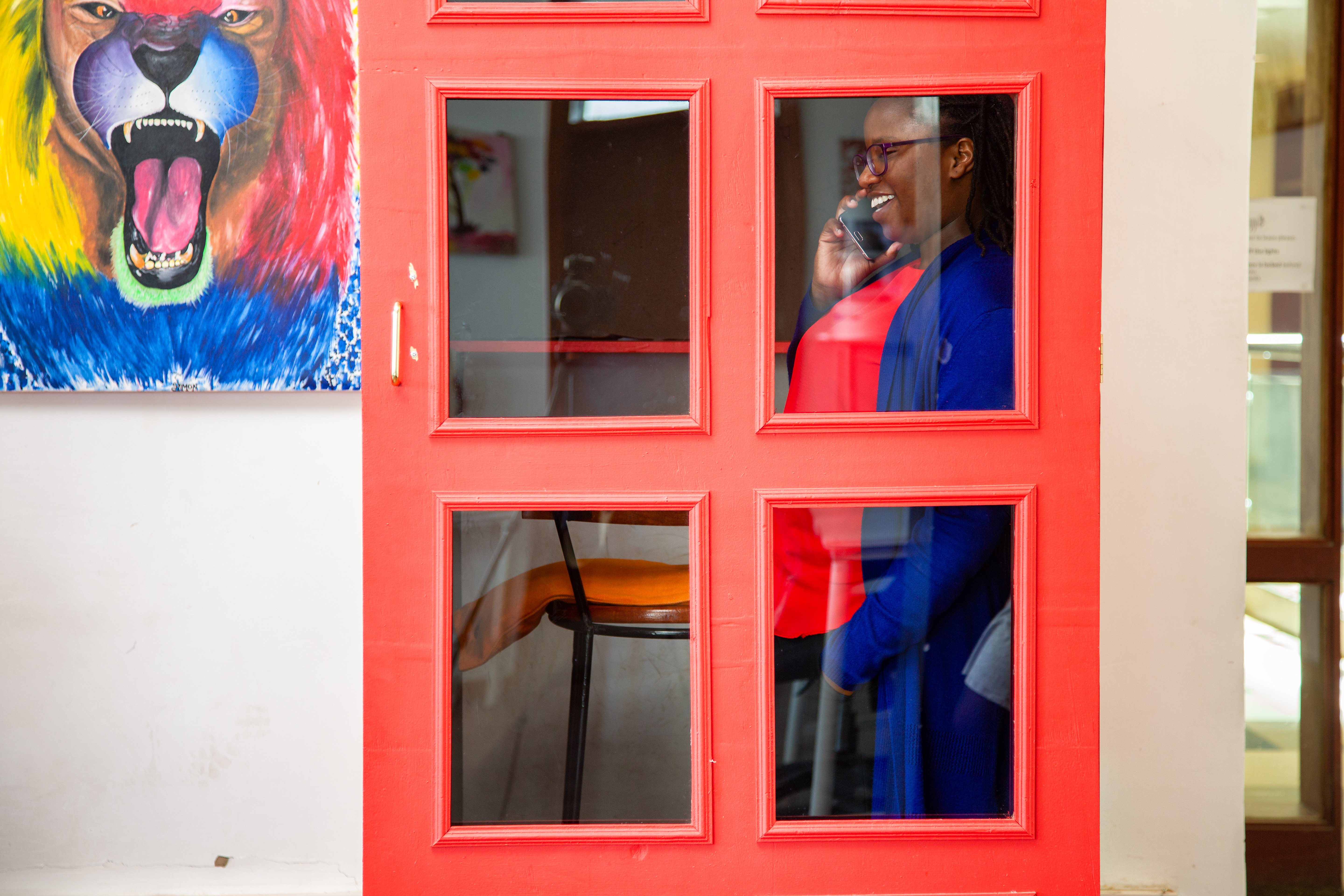 A private office comes with access to phone booths
