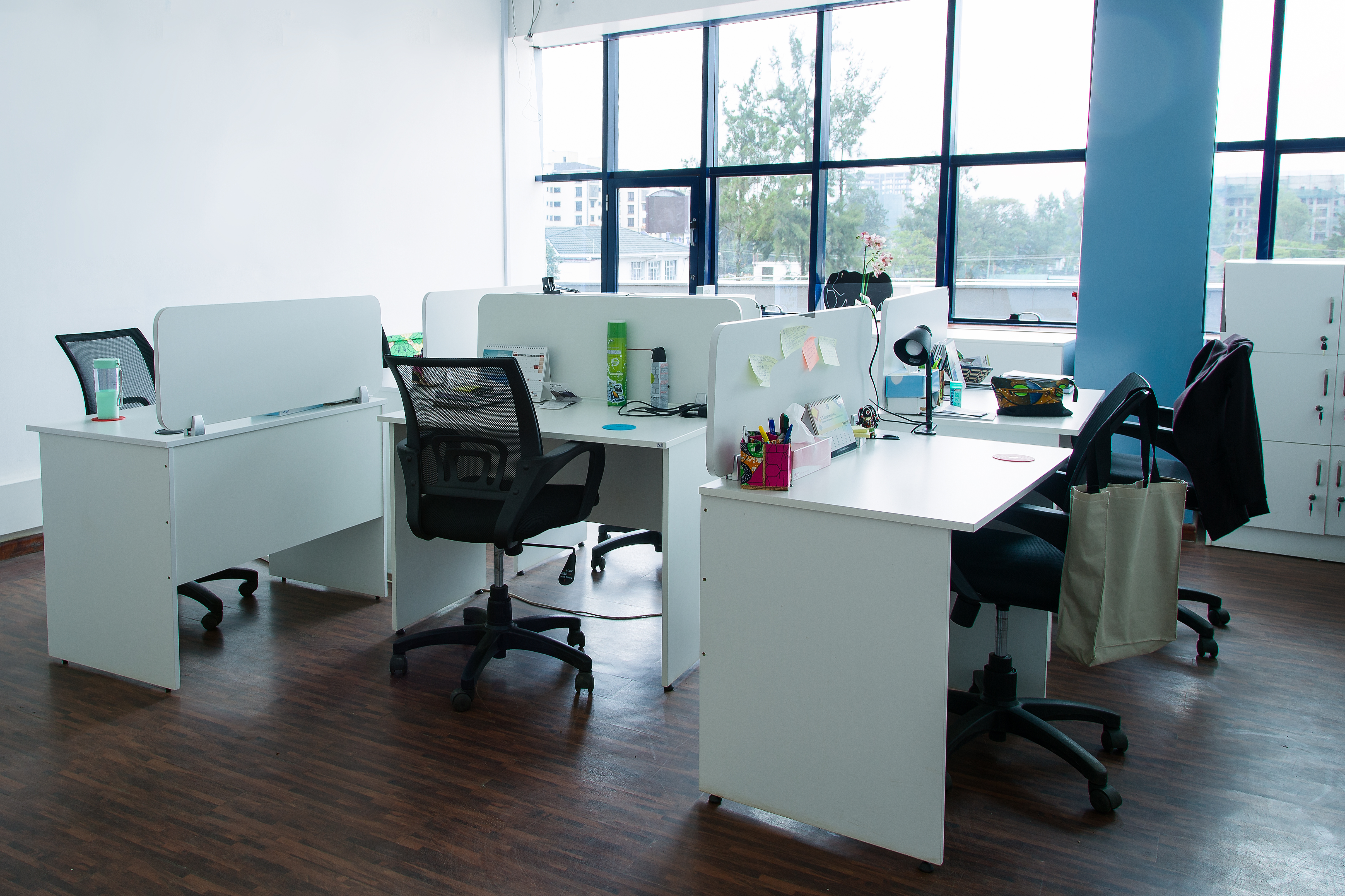 A private office at the Kijiji
