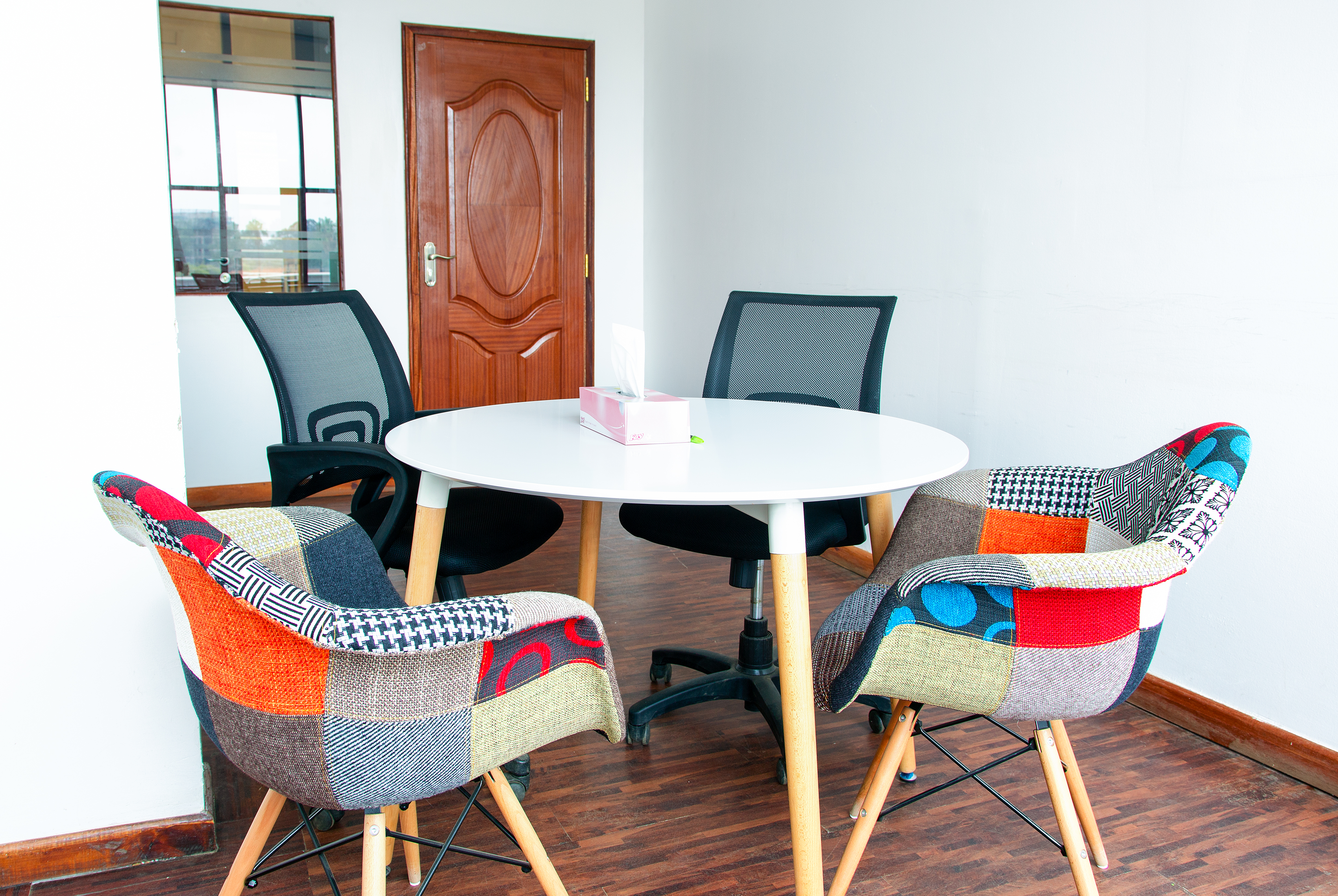 Meeting room for a private office